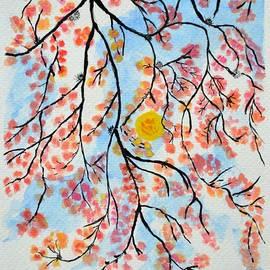 Hanging to Flowers by Sonali Gangane
