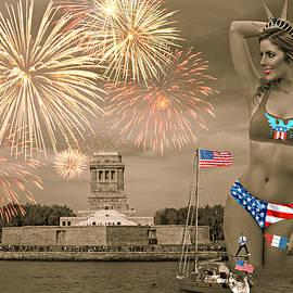 Happy Birthday, America III by Aurelio Zucco