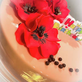 Happy birthday cake by Claudia M Photography