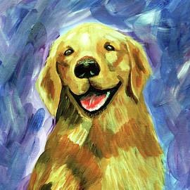 Happy Dog by Jessie Adelmann
