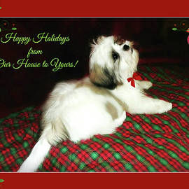 Happy Holidays from Our House to Yours by Marilyn DeBlock