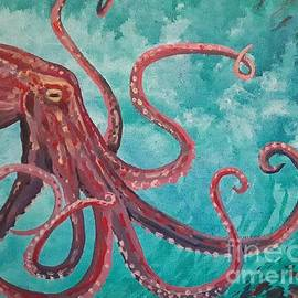 Happy Hunting Little Octopus by Sue Bonnar