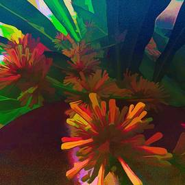 Happy Plant Flowering Graphic Feel by Joan Stratton