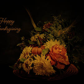 Happy Thanksgiving by Denise Harty