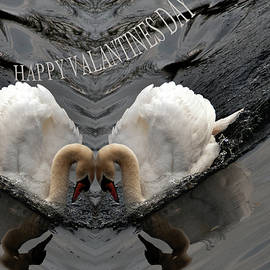Happy Valentines Day by Clive Beake