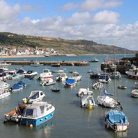 Harbour at Lyme by Michaela Perryman