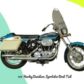 Harley Sportster by Anne Sands