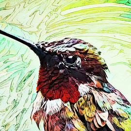 Harmonious Hummingbird by Tina LeCour