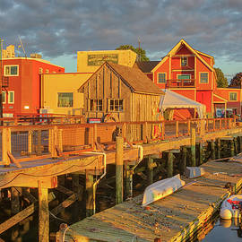 Harriet Webster Pier at Gloucester Harbor by Juergen Roth