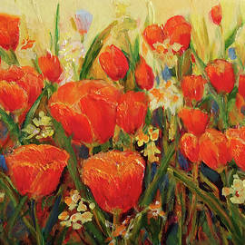 Harriet's Tulips by Nanci Cook