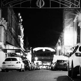 Harrogate at night by Clive Beake