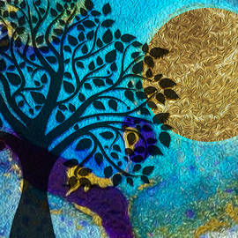 Harvest Moon by Mary Poliquin - Policain Creations