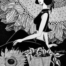 Harvest season  by Xueping Zhang