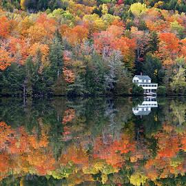 Harvey's Lake Autumn by Alan L Graham