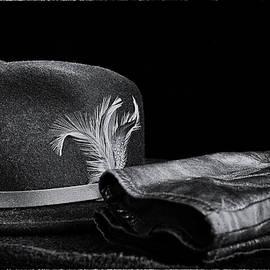 Hat and Gloves -Film Noir by Bill Tincher
