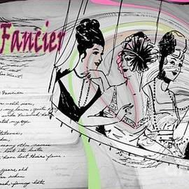 Hat Fancier Letter ET 062 by GJ Glorijean
