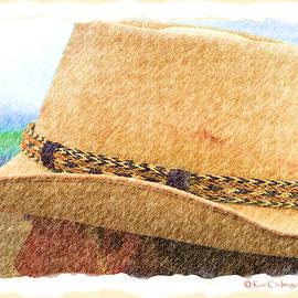 Hats Western Style 3 by Kae Cheatham