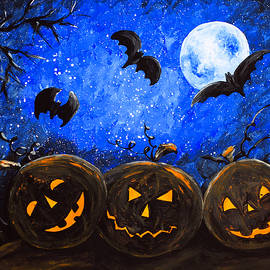 Haunted Night by Iryna Goodall
