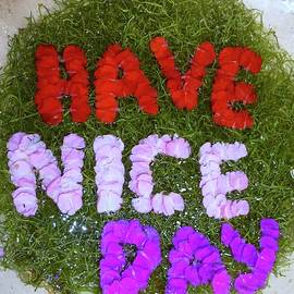 Have Nice Day Memo from Bali by Barbie Corbett-Newmin