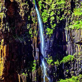 Hawaiian Single Waterfall - #shotsfromhawaii by DRD Images
