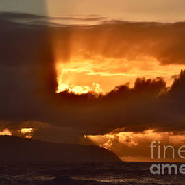 Hawaiian Sunset Serendipity  by Debra Banks