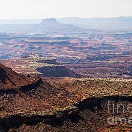 Hazy Beauty Grand View Trail Canyonlands National Park Moab Utah by Wayne Moran