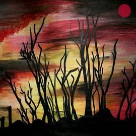 Hazy Sunset by Belinda Threeths