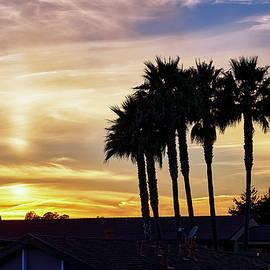 Hazy Sunset in Santa Cruz by Scott Eriksen