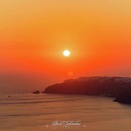 Hazy Sunset by Omid Gohardani