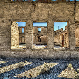 HDR at Rhyolite Ghost Town by Spencer McDonald