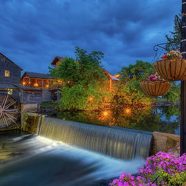 The Old Mill in Pigeon Forge 2 by Steve Rich