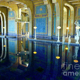 Hearst Castle Indoor Pool 1  by Julieanne Case