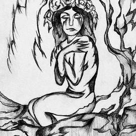 Heart and Soul study by Cheryl Pettigrew