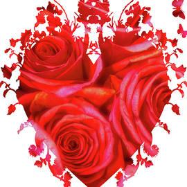 Hearts and Roses by Maria Keady