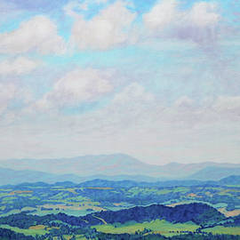 Heaven and Earth - Blue Ridge Parkway by Bonnie Mason