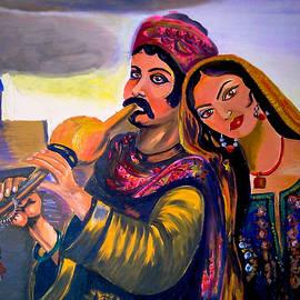 Heer Ranjha portrait by J J