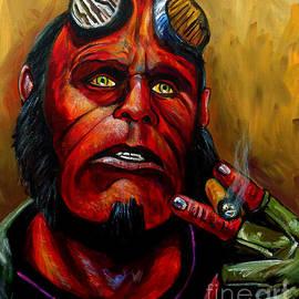 Hellboy by Jose Mendez