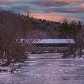 Henniker Covered Bridge by Joann Vitali