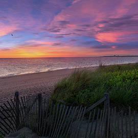 Herring Cove Beach Sunset by Bill Wakeley