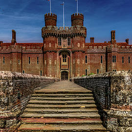 Herstmonceux Castle by Chris Lord