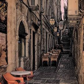 Hidden Streets of Drubrovnik by Richard Smith