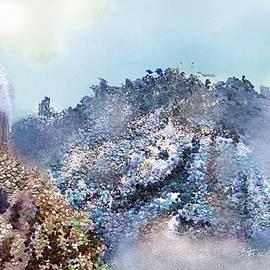 High Mountain Pass by Robert Rearick