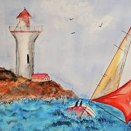 High Sails by Terry Feather