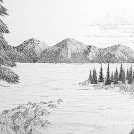 High Sierra Lake by Ed Moore