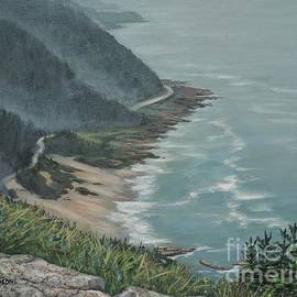 High View-Highway 101 by Paul Henderson