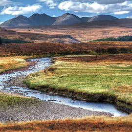 Highland Scotland Autumn Splendour Glen Oykel by OBT Imaging