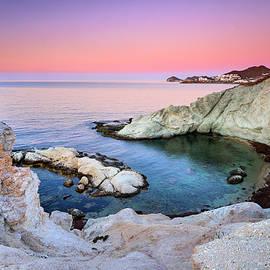 Higuera Cala. Cabo de Gata. At  sunrise by Guido Montanes Castillo