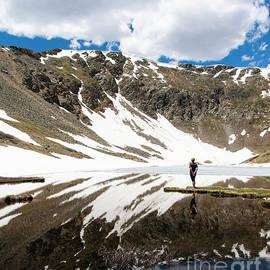 Hike to Shelf Lake Colorado by Wayne Moran