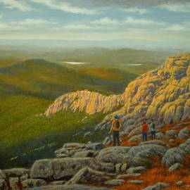 Hiking Whiteface by Barry DeBaun