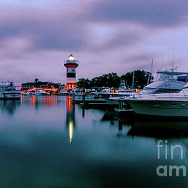 Hilton Head Harbor by Norma Brandsberg